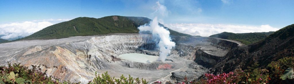 Vista del Volcán Poás