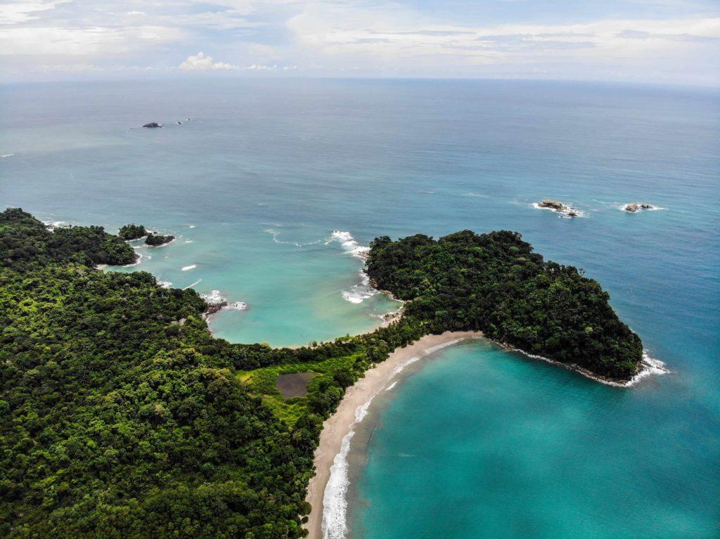 Parque Nacional Manuel Antonio, Vista de Punta Catedral